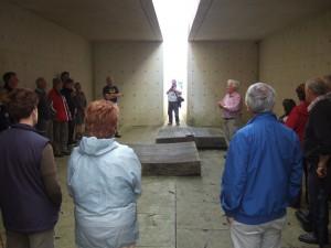 Inside Tulach a' tSolais Memorial