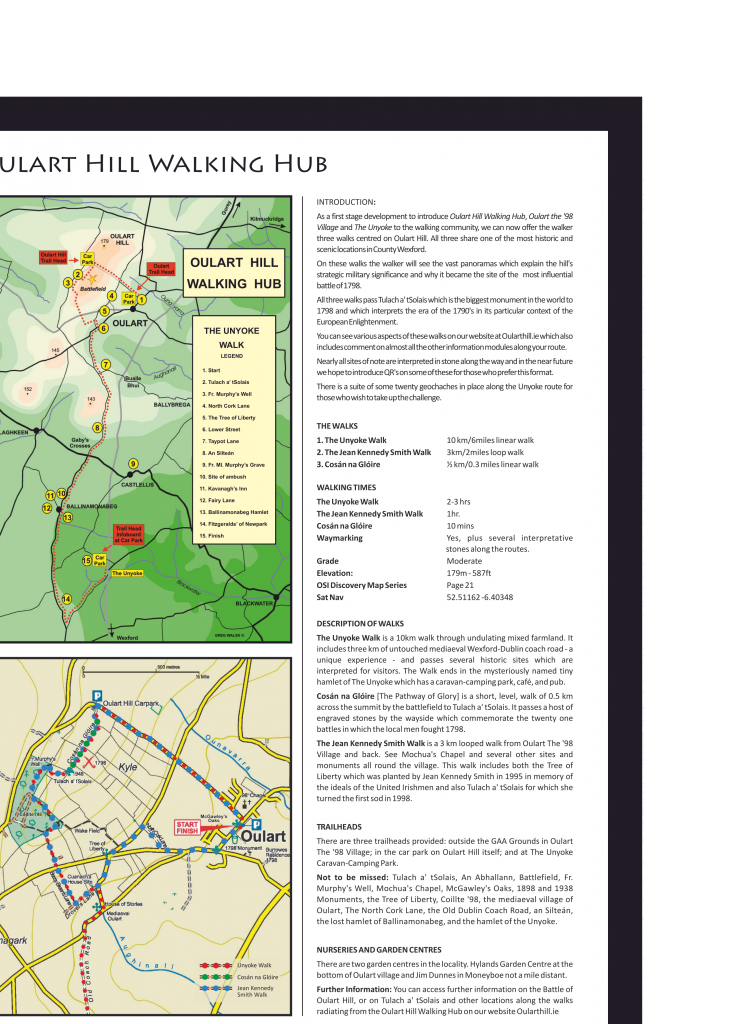 Map Oulart-Unyoke  Feb 2015