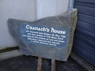 Cuanach's House Trail Marker
