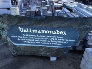 Ballinamonabeg Trail Marker