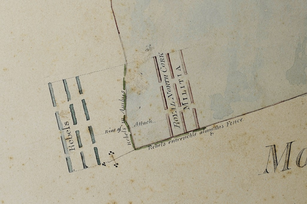 James Cahill's Map (1817)