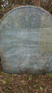 Ballyhuskard grave stone